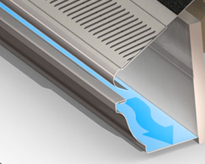 3D Rendering of the Phalanx Gutter Guard